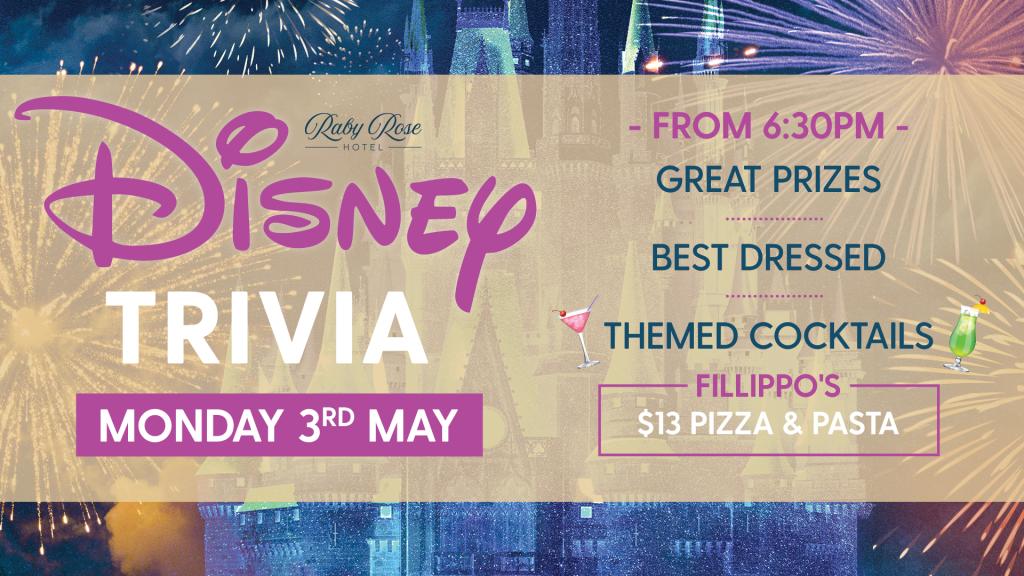 Disney Trivia - Raby Rose Hotel